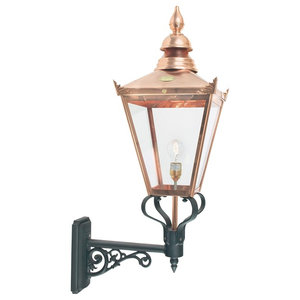 Copper Up Wall Lantern, Large