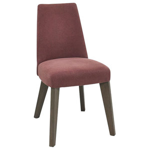 Burma Dining Chair, Mulberry, Set of 2