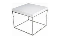 Floyd Side Table, White