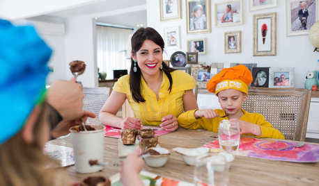 Out of the Frying Pan: A Food-Loving Family's New Entertaining Area