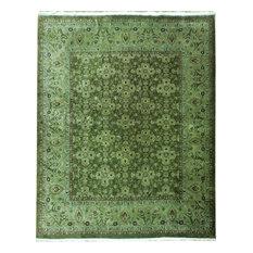 Traditional Rug, Greens, 12'x15', Oriental, Handmade Wool