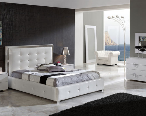 made in spain leather luxury contemporary furniture set with extra storage bedroom furniture sets