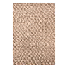 nuLOOM Hand Woven Hailey Jute, Natural, 10'x13'