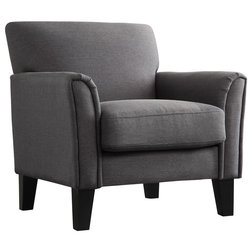 Transitional Armchairs And Accent Chairs by Inspire Q