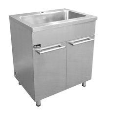 "DAWN - Dawn SSC3036 30"" Stainless Steel Sink Cabinet - Kitchen Cabinetry"