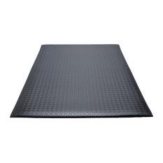 Guardian Soft Step Supreme Anti-Fatigue Floor Mat, Vinyl, 3'x5', Black