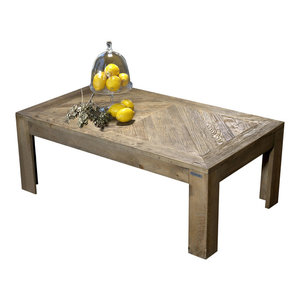 Ortica Aged Elm Coffee Table