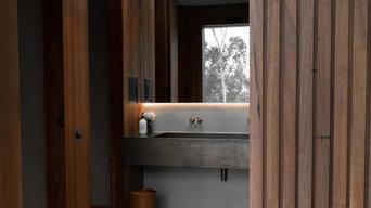 Marmorino Bathrooms at Medhurst Winery
