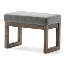 Simpli Home Ltd. - Milltown Ottoman Bench, Small 26