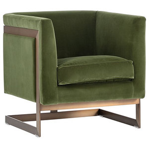 Beretta Leather Chair Midcentury Armchairs And Accent Chairs By Vanillawood