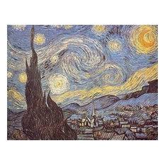 "Starry Night, Wall Tapestry, 20""x24"""