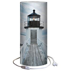 Tall Demoiselle Table Lamp, Lighthouse
