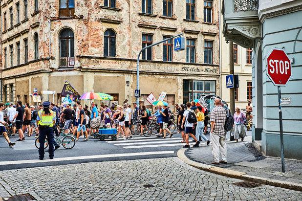 Demonstration Görlitz ist bunt