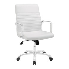 Modway Finesse Mid Back Office Chair EEI-1534-WHI