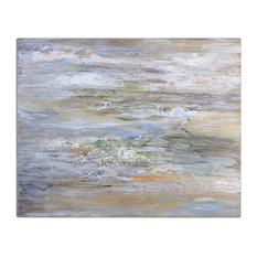 Misty Morning Hand Painted Art 34394