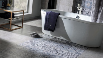 Patterned Feature Tiles - Antique Silver