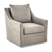 Avenue 405 Renee Swivel Chair, Dove