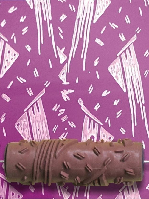 pattern paint roller ideas pictures remodel and decor