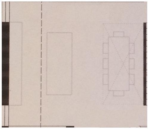 grundrissplanung platzbedarf im esszimmer f r tisch und st hle. Black Bedroom Furniture Sets. Home Design Ideas