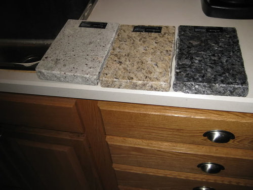 Granite With Oak What Color Light