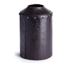 """Santa Ynez Recycled Metal Vase 9.75"""""""