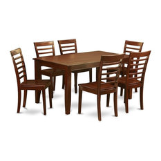 7-Piece Dining Set Dining Table With 6 Dining Chairs