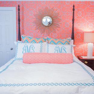 Example of a bedroom design in Atlanta