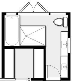 master bathroom/closet layout help!