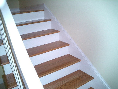 Laminate Stairs Stair Nose Dilemma, Stair Nosings For Laminate Flooring
