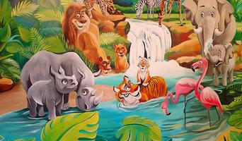 Tropical design for Kids bedroom