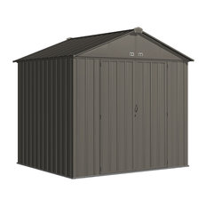 EZEE 8x7 High Gable Shed in Charcoal