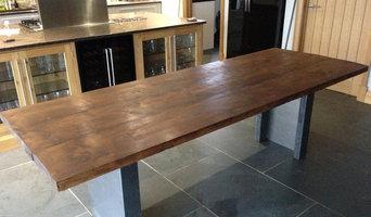 Vintage Industrial Tables with Mild Steel Frame