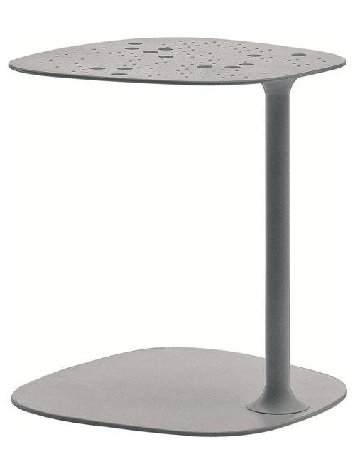 Aikana Sidobord H42cm, Silver - Sideborde & aflastningsborde