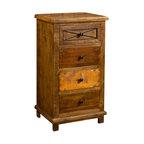 Four Hands Spencer Curio Cabinet - Rustic - Storage ...
