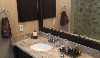 New Braunfels custom bath vanity