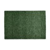 Country Tweed Duffel Green Rectangle Plain/Nearly Plain Rug 120x170cm