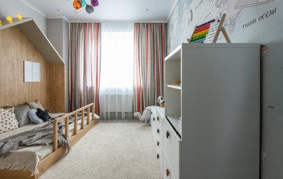 Houzz тур: Квартира в Челябинске для молодой семьи с ребенком