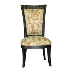 Traditional Side Chair by Moretti's Design Collection INC