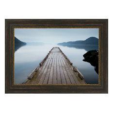 """Off Orcas Island"" By Michael Cahill, Framed Wall Art, Ready to Hang"