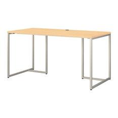 Method 60W Table Desk, Natural Maple