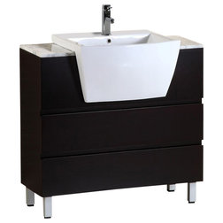 Perfect Contemporary Bathroom Vanities And Sink Consoles by Bellaterra Home