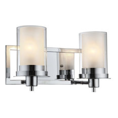hardware house hardware house avalon 2 light wall fixture chrome bathroom vanity lighting