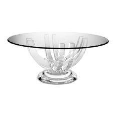 Acrylic Dining Room Tables Houzz - Acrylic dining table