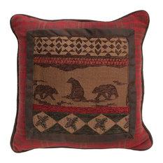 Bear Square Pillow