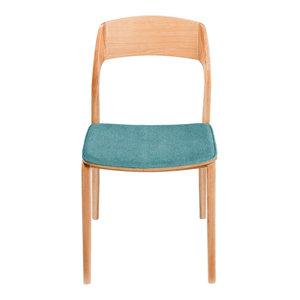 Indian Blue Dining Chair, Set of Two