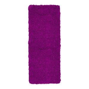 KESS InHouse AlyZen Moonshadow VILLI Teal Purple Memory Foam Bath Mat 17 x 24