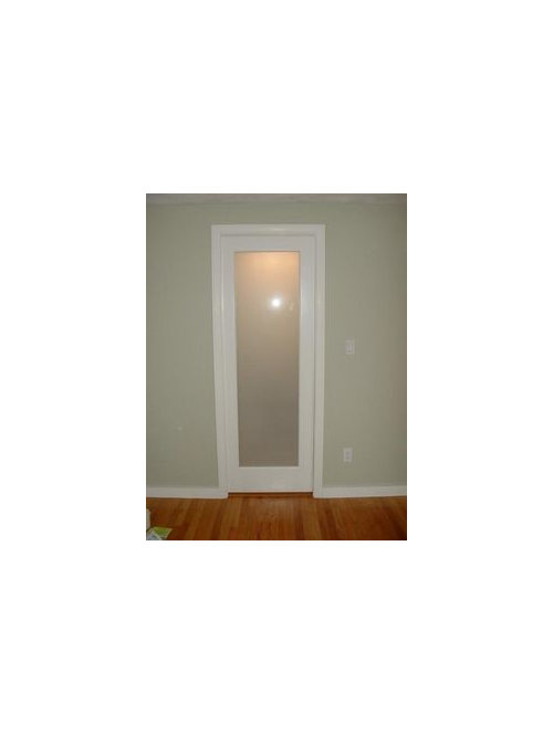 Frosted Glass Door For Ensuite