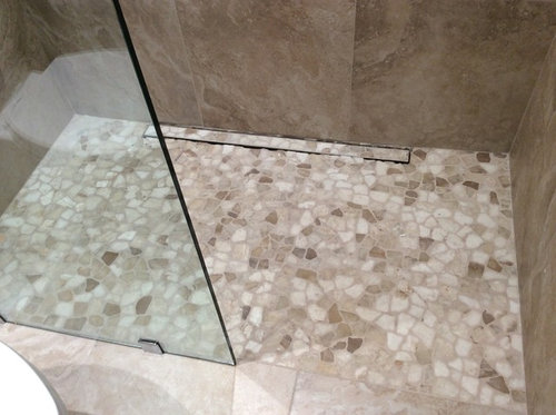 Superbe New Stone Shower Floor   Seal Or Not To Seal?