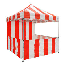 Impact Canopy - Carnival Instant Canopy Ez Pop Up With Sidewalls And Front Service Rail  sc 1 st  Houzz & 8X8 Gazebos u0026 Canopies | Houzz