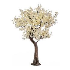 LED White Gingko Tree, Warm White LED